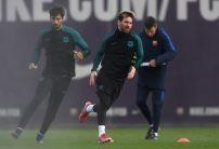 Messi set to start tonight in bid to beat Ronaldo's record
