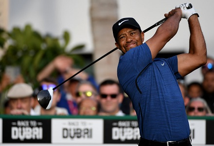 Tiger Woods withdraws from Dubai Desert Classic