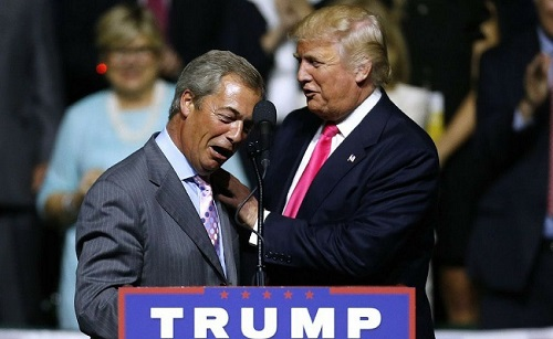 Farage and Trump