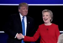 Money pouring in for Clinton on election day