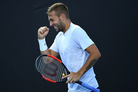Dan Evans beats Marin Cilic in biggest win of his career