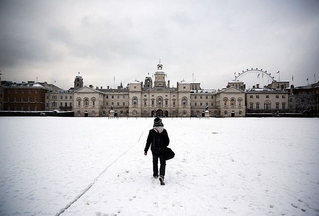 Forecasters have predicted first White Christmas since 2010