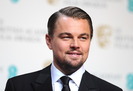 DiCaprio booked for first BAFTA