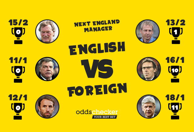 Will the next England manager be English or Foreign?