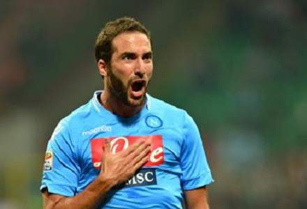 Juventus in to 10/11 from 18/1 for Higuain signature