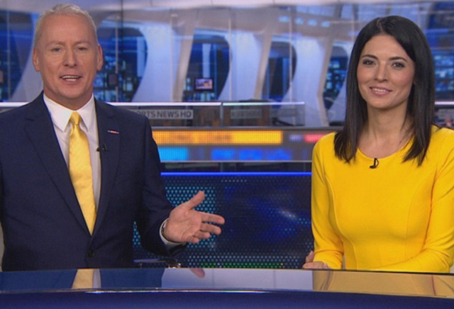 Will Jim White be wearing a yellow tie?