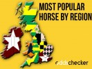 What's the most backed horse at Cheltenham in your area?