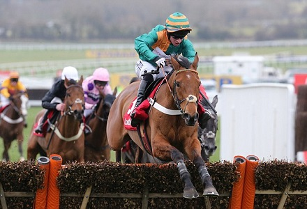 Clouds can book his place in festival Foxhunter Chase