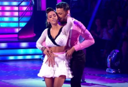 Improving Georgia has sights set on Strictly crown