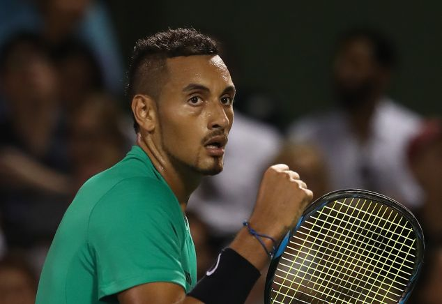 Kyrgios Throws FIFA 17 Match