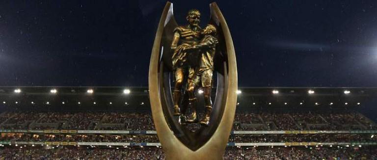 Image result for nrl grand final  challenge trophy