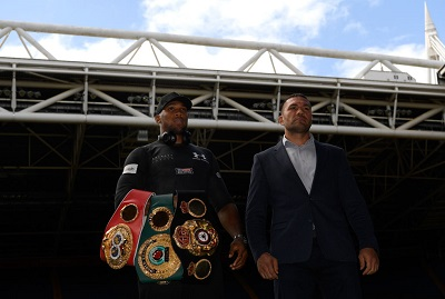 Anthony Joshua priced for early round KO vs Takam