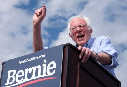 Bernie Sanders set for landslide victory in key primaries - but bookies still make Trump strong favourite