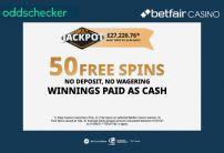 Betfair Casino 50 Free Spins (No Deposit Bonus)