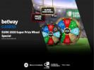 Betway Casino Super Prize Wheel: Euro 2020 Edition