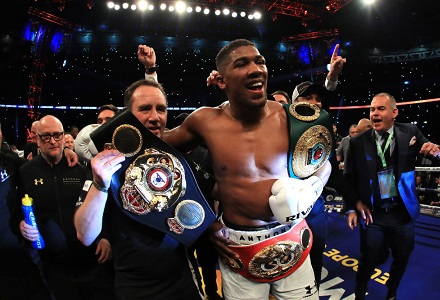 Mike Tyson is full of praise for Anthony Joshua