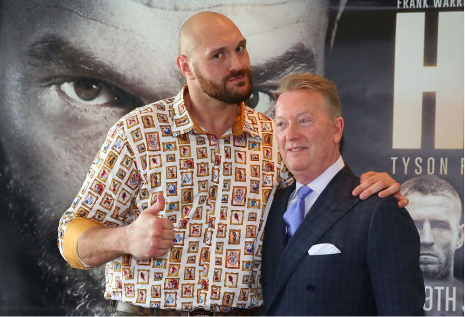 Tyson Fury has confirmed an opponent for his return - Bookies make it a non-contest