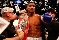 Anthony Joshua opens as massive underdog in potential fight with UFC Heavyweight champ Stipe Miocic