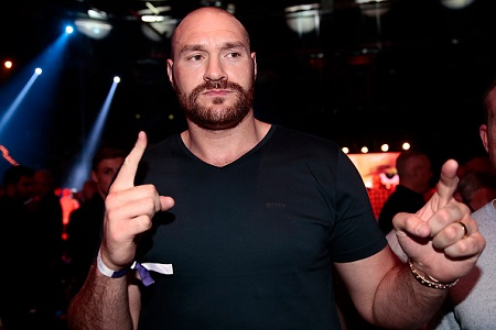 Public heavily backing Tyson Fury for eventual bout with Anthony Joshua