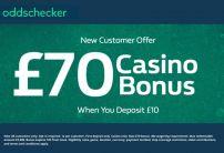 William Hill Deposit £10, Play with £70 Casino Bonus