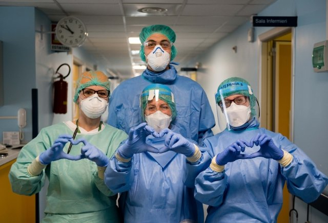 Doctors, Nurses, First Responders and Health Workers favourite for TIME Person of the Year
