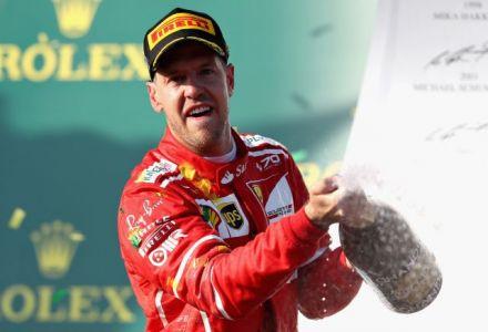 Vettel wins Australian Grand Prix