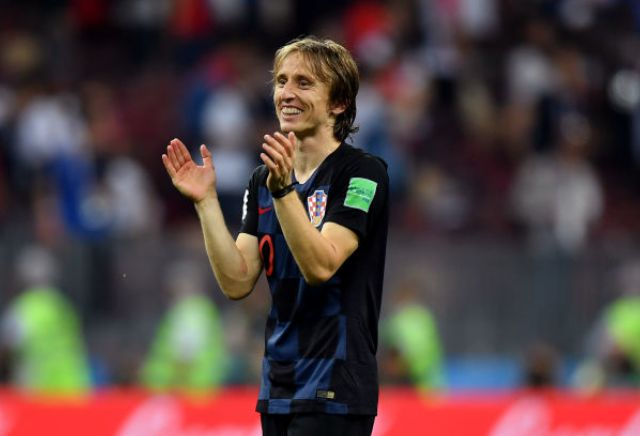 Luka Modric backed into second favourite for Ballon d'Or