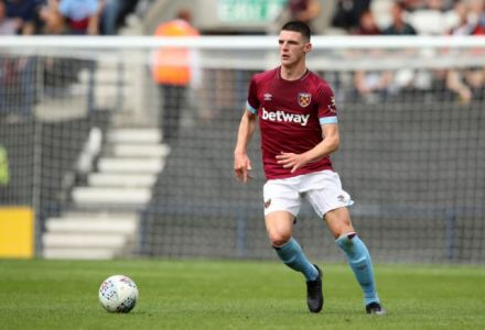 Declan Rice to snub England and pledge allegiance to Ireland, say bookies