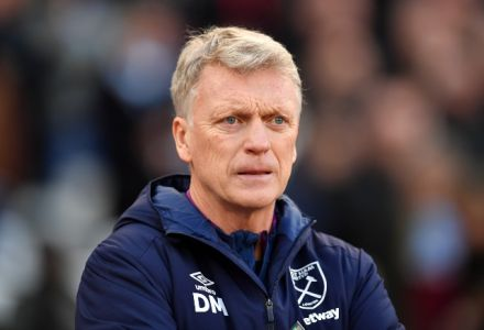 David Moyes most backed manager to be SACKED despite joining a month ago