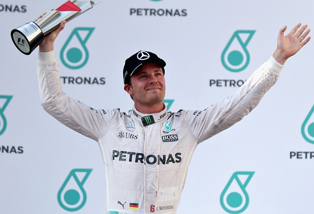 Nico Rosberg favourite for the 2016 Drivers' Championship.