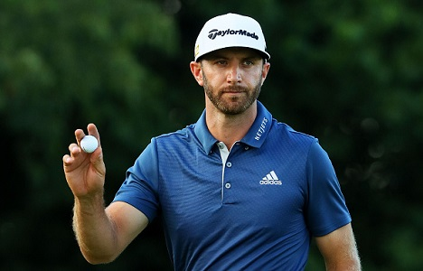 Dustin Johnson injured on eve of Masters