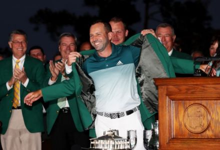 Sergio Garcia wins the Masters