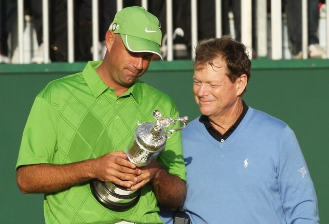 Punters throw the kitchen Cink at 2009 Open champion