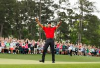 Bookies rate Tiger Woods' chances of breaking Jack Nicklaus' major record