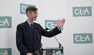 Jacob Rees-Mogg tops Conservative poll on next party leader