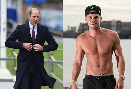 Contrasting names expected for Gaz Beadle's and Prince William's babies
