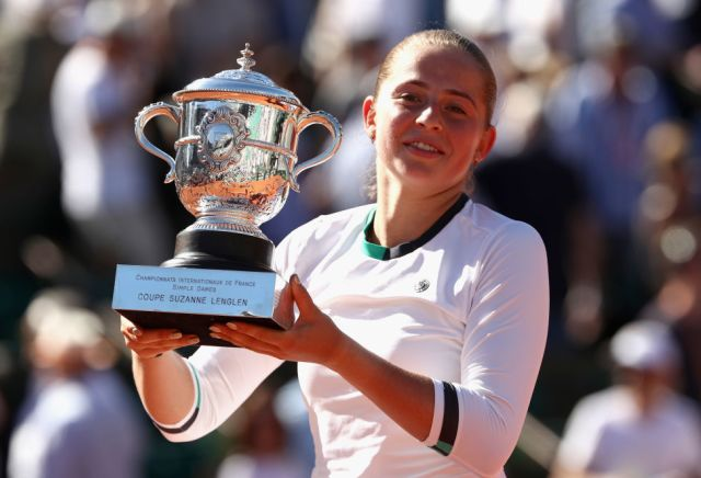 Ostapenko backed for Wimbledon success