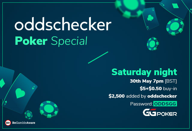 How to enter the oddschecker Special poker tournament