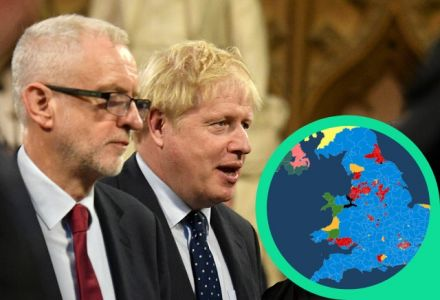 General election odds tracker: Interactive map shows the result bookies expect in each constituency