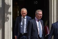 Lidington or Gove for PM? Bookies slash odds on cabinet coup