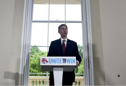 Jeremy Hunt slashed to second favourite for Tory leadership following campaign launch