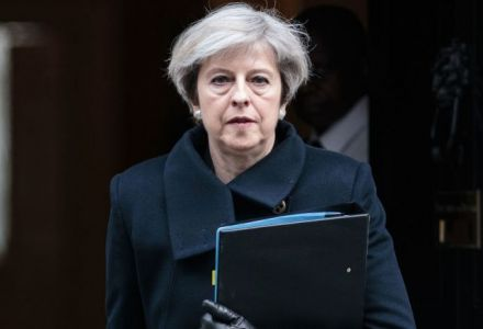 55.6% chance Theresa May leaves by the end of year, say bookmakers