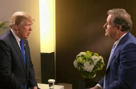 Support for Trump 2020 grows following Piers Morgan interview