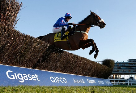 Cash continues to come for Cue Card to repeat Ascot Chase victory