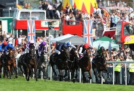 Derby runner-up Cliffs Of Moher backed for Coral Eclipse