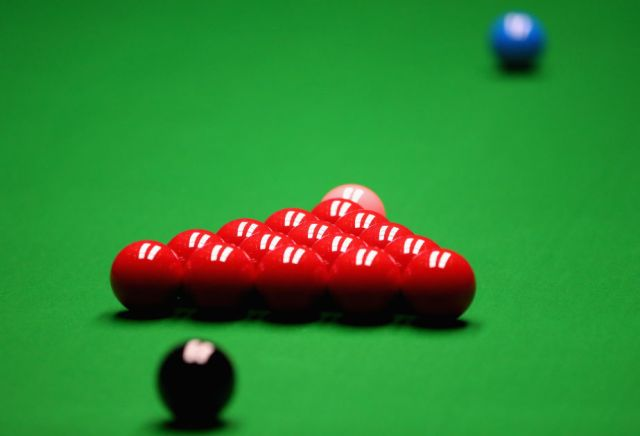 The most backed player cut from 1500/1 to 50/1 for Snooker