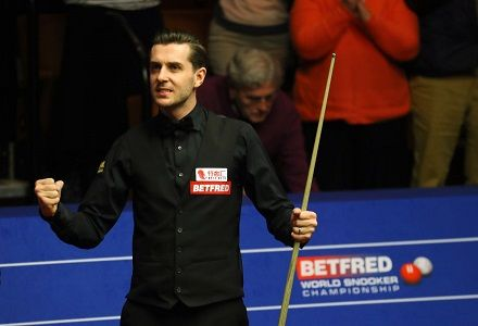 Mark Selby crowned World Champion at The Crucible