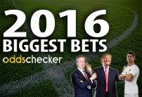 The 10 Biggest Bets on Oddschecker in 2016