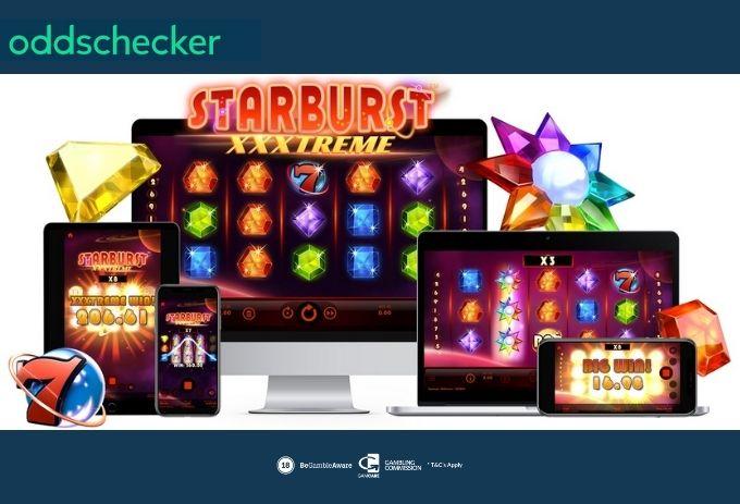 New Starburst™ XXXtreme Slot Launches at NetEnt Casinos