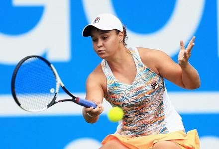 Ashleigh Barty backed for Wimbledon success despite loss ...